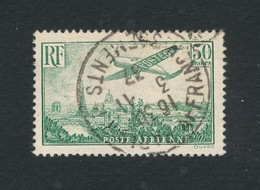 FRANCE 1936 - 50 Francs Vert-jaune N°YT 14 Oblitéré °  Signé Brun Cote 420€ - Voir Scan - 1927-1959 Used