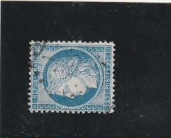 CÉRÈS N° 60 A  - GC  23  AIGUILLES  (04) HAUTES-ALPES - REF LOC37 - IND 14 - 1871-1875 Ceres