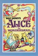 Postcard - Disney Art  Movie Posters - Alice In Wonderland - 1974 Re Release - New - Unclassified