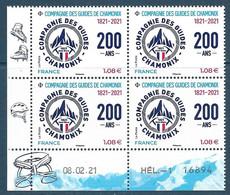 Coin Daté Compagnie Des Guides De Chamonix (2021) Neuf** - 2010-....