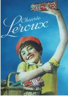 Chicorée Leroux, Fillette Avec Panier - éditions Floriscope - Neuve - Advertising
