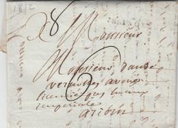 LOIRE LAC 1812 YSSINGEAUX - 1801-1848: Precursors XIX
