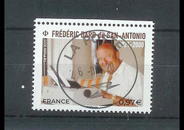 Superbe Timbre Gommé 5405 Frédéric Dard 2020 Oblitérée TTB PCD Rond - Used Stamps