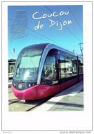 Cpm - 21 - Coucou De Dijon - Côte D'Or - Chouette (hibou) Tram Tramway DIVIA - Gare - M.G. édit. - Dijon
