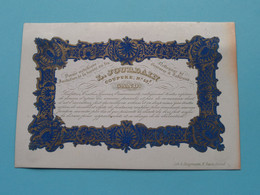 L. JOURDAIN Nettoyage De Gravures > Coupure N° 53 > GAND ( Carte Porcelaine / Porzellan / Porselein ) ! - Visiting Cards