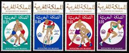 MAROC 1976 Y&T N° 765 à 768 N** BORD DE FEUILLE ROYAUME DU MAROC - Morocco (1956-...)