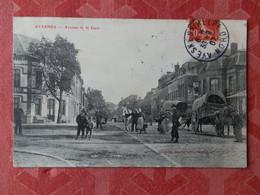 Dep 59 , Cpa  AVESNES , Avenue De La Gare  (S3.113) - Avesnes Sur Helpe