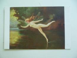CPA / Carte Postale Ancienne / Ange , Fée , Elfe Par Albert Pennot - School