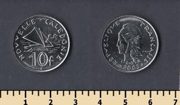 New Caledonia 10 Francs 2003 - Nouvelle-Calédonie