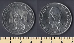 New Caledonia 50 Francs 2001 - Nuova Caledonia