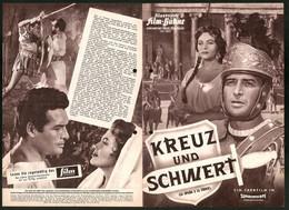 Filmprogramm IFB Nr. 4841, Kreuz Und Schwert, Yvonne De Carlo, Jorge Mistral, Regie: C. L. Bragaglia - Magazines