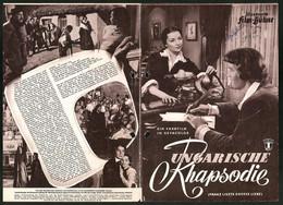 Filmprogramm IFB Nr. 2292, Ungarische Rhapsodie, Paul Hubschmid, Michel Simon, Regie: Peter Berneis - Magazines
