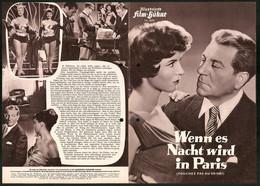 Filmprogramm IFB Nr. 2629, Wenn Es Nacht Wird In Paris, Jean Gabin, René Dary, Regie: Jacques Becker - Magazines