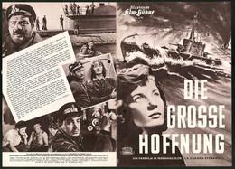 Filmprogramm IFB Nr. 2785, Die Grosse Hoffnung, Renato Baldini, Lois Maxwell, Regie: Duilio Coletti - Magazines