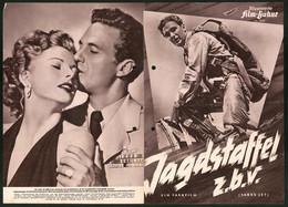 Filmprogramm IFB Nr. 2787, Jagdstaffel Z.b.v., Robert Stack, Coleen Gray, Regie: Louis King - Magazines