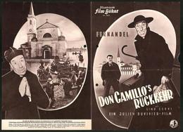 Filmprogramm IFB Nr. 2025, Don Camillo`s Rückkehr, Fernandel, Gino Cervi, Regie: Julien Duvivier - Magazines
