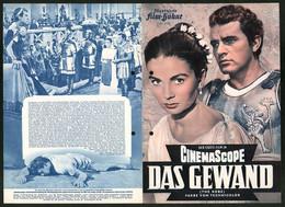 Filmprogramm IFB Nr. 2193, Das Gewand, Richard Burton, Jean Simmons, Regie: Henry Koster - Magazines