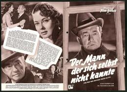 Filmprogramm IFB Nr. 2271, Der Mann Der Sich Selbst Nicht Kannte, Claude Rains, Marta Toren, Regie: Harold French - Magazines