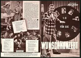 Filmprogramm IFB Nr. 2930, Wunschkonzert, Curt Vespermann, Germaine Damar, Regie: Erik Ode - Magazines