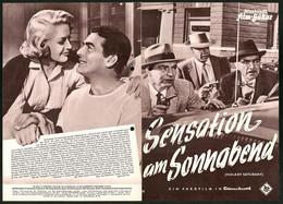 Filmprogramm IFB Nr. 2860, Sensation Am Sonnabend, Victor Mature, Magaret Hayes, Regie: Richard Fleischer - Magazines