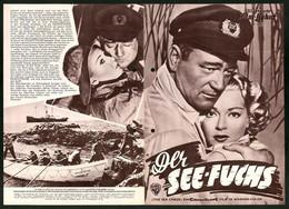 Filmprogramm IFB Nr. 2894, Der See-Fuchs, John Wayne, Lana Turner, Regie: John Farrow - Magazines
