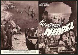 Filmprogramm IFB Nr. 2757, Karussell Neapel, Paolo Stoppa, Clelia Matania, Regie: Ettore Giannini - Magazines