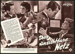 Filmprogramm IFB Nr. .2598, Das Unsichtbare Netz, Gregory Peck, Broderick Crawford, Regie: Nunnally Johnson - Magazines
