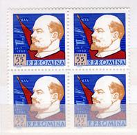 Romania / Rumänien  Michel # 2115 ** 4-er Block - Unused Stamps