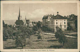 CH ZUG / St. Michaelskirche Une Institut St. Michael / - ZG Zug