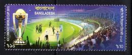 Bangladesh 2015. ICC Cricket World Cup. MNH - Bangladesch