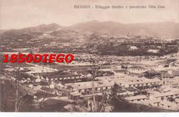 MESSINA - VILLAGGIO GIASTRA E PANORAMA VILLA LINA F/PICCOLO VIAGGIATA - Messina