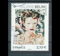 Superbe Timbre Gommé 5301 Valérie Belin 2019 Oblitérée TTB PCD Rond - Used Stamps