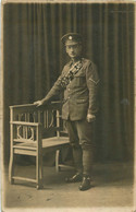CARTE PHOTO SOLDAT SECONDE GUERRE - Guerra 1914-18