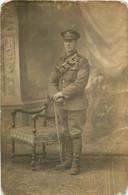 CARTE PHOTO 1919 LEON CARON AMIENS SOLDAT CRAIG - Guerra 1914-18