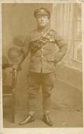CARTE PHOTO SOLDAT ANGLAIS - Guerra 1914-18
