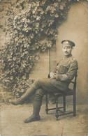 CARTE PHOTO SOLDAT AOC ARMY ORDNANCE CORPS - Guerra 1914-18