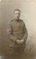 CARTE PHOTO SOLDAT - Oorlog 1914-18