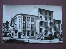 CPA PHOTO 62 LE TOUQUET PARIS PLAGE Universel Hotel Restaurant Mme MERY Propriétaire 1950 RARE ? VOITURES - Le Touquet