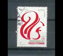 Superbe Timbre Gommé 5207 Bicentenaire Des Caises D'Epargne 2018 Oblitérée TTB PCD Rond - Used Stamps