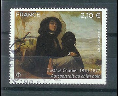 Superbe Timbre Gommé 5333 Gustave Corbet 2019 Oblitérée TTB PCD Rond - Used Stamps