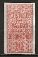 Colis Postaux Neuf Avec Charnière N° 1 Lot 51-2 - Ungebraucht