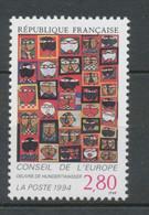 """Service N°112 Conseil Europe """"36 Têtes"""" Hundertwasser 2f80 ZS112 - Neufs"""