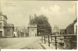 """CP De Malines ( Mechelen ) """" Au Pont Du Bruel """" - Mechelen"""