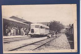 CPA Madagascar Afrique Noire Non Circulé La Micheline Tananarive Gare Chemin De Fer Train - Madagascar
