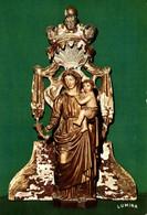 46 MUSEE D'ART SACRE DE ROCAMADOUR  VIERGE A L'ENFANT  BOIS SCULPTE PEINT ET DORE EGLISE DE PARNAC - Museum