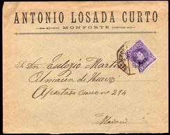 """España - Edi O 246 - Carta Mat Ambulante """"Amb Asc II - 5 - Noroeste"""" - Cartas"""