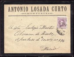 """España - Edi O 246 - Carta Mat Ambulante """"Amb 8 - Noroeste"""" (pequeño) - Cartas"""