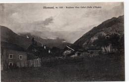 OLLOMONT - FRAZIONE CHEZ COLLET - AOSTA - VIAGGIATA - Aosta