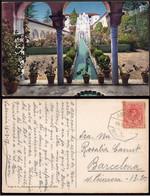 """España - Edi O TP 269 - Postal """"Granada - Generalife"""" - Mat Ambulante """"Amb Des I - 2 - Valencia - Barcelona"""" - Cartas"""