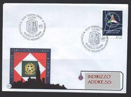 Italia Cremona, Provincia Visita Presidente Della Repubblica Italiana Carlo Azeglio Ciampi Republic President ANN00077 - Covers